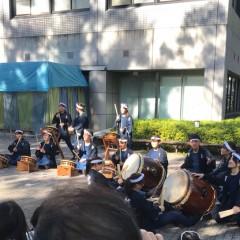 小金井祭にて和太鼓サークル